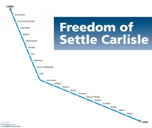 Freedom of Settle-Carlisle Line 4 in 8 Day Rover
