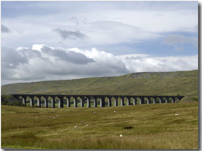 Ribblehead Viaduct on the Settle-Carlisle Railway Line by Rob Cousins