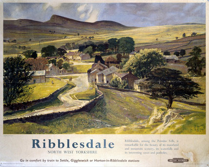 'Ribblesdale' British Rail Poster